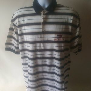 Tommy Hilfiger men's striped polo shirt Size XL